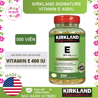 [ CHÍNH HÃNG ] Kirkland Signature Vitamin E 400IU thumbnail