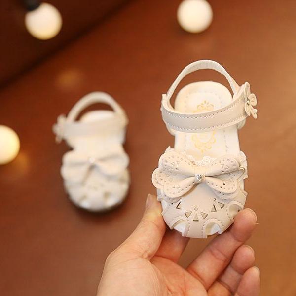 sandal công chúa bé gái size 15-19