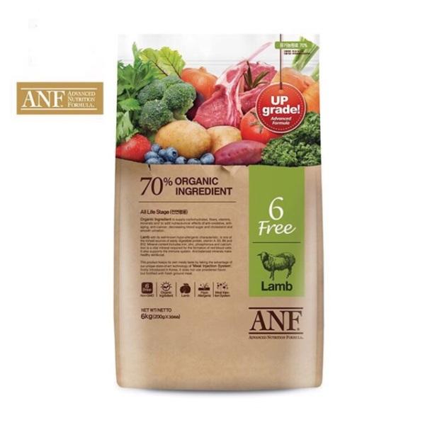 2kg Thức ăn nhập khẩu Hàn quốc ANf ( Lamb SalmonDuck) (thịt vit), chất lượng đảm bảo an toàn đến sức khỏe người sử dụng, cam kết hàng đúng mô tả