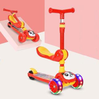 Xe trượt Scooter, Xe trượt giành cho bé từ 2-8 tuổi, Xe trượt 3 bánh chịu được trọng tải 100kg, Đồ chơi ngoài trời giúp bé phát triển, Món quà đặc biệt giành tặng bé thumbnail