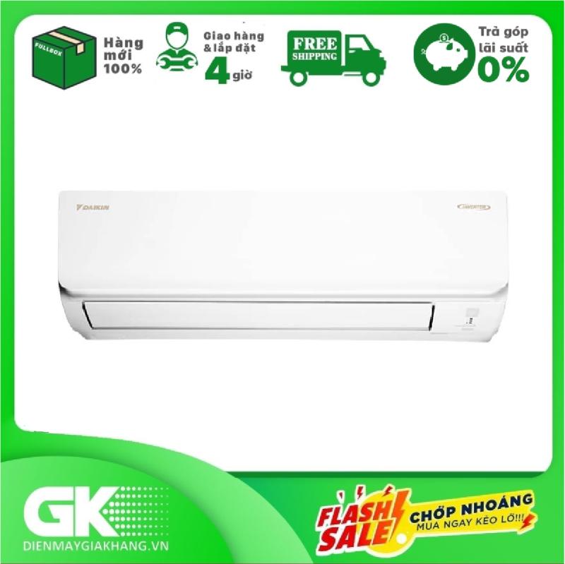 Bảng giá [THU THẬP VOUCHER GIẢM 1.000K TỪ LZD] Máy lạnh Daikin Inverter 2 HP FTKA50UAVMV - Công suất làm lạnh 17.000 BTU Máy lạnh Inverter