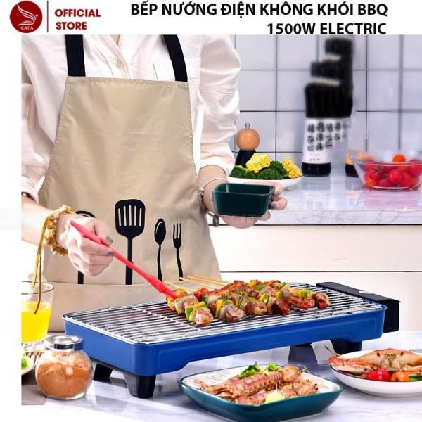 Bếp Nướng Điện Không Khói Bbq2005 1500W Electric- Hàng Loại 1, Thích Hợp Cho Gia Đình, Tiết Kiệm Điện Năng !