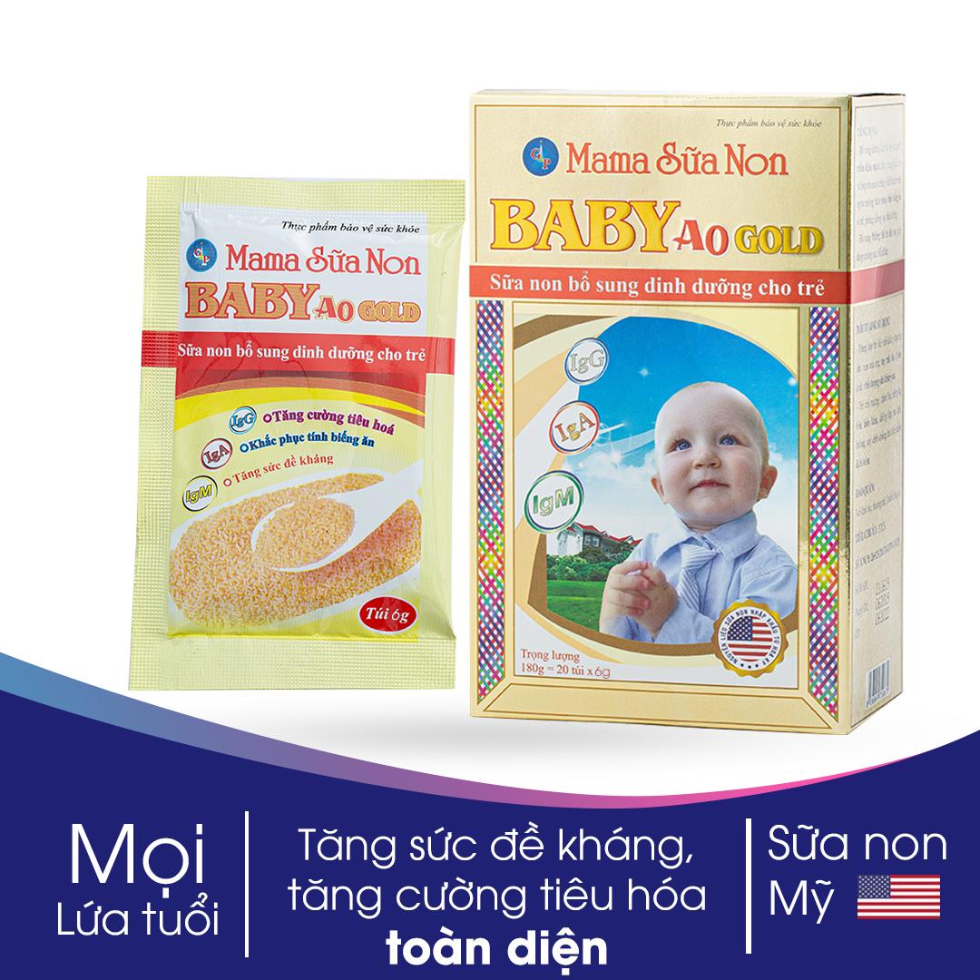 Mama Sữa Non Baby A0 Gold 6g - Bổ Sung Dưỡng Chất Toàn Diện Không Thể Rẻ Hơn tại Lazada