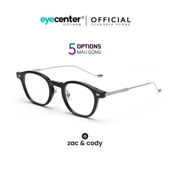Giá bán Gọng kính cận nam nữ #FORT SMITH chính hãng ZAC & CODY kim loại chống gỉ cao cấp nhập khẩu by Eye Center Vietnam
