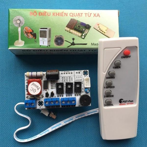 Bộ mạch và điều khiển quạt phun sương, quạt điều hòa 220v 300W - QT 322
