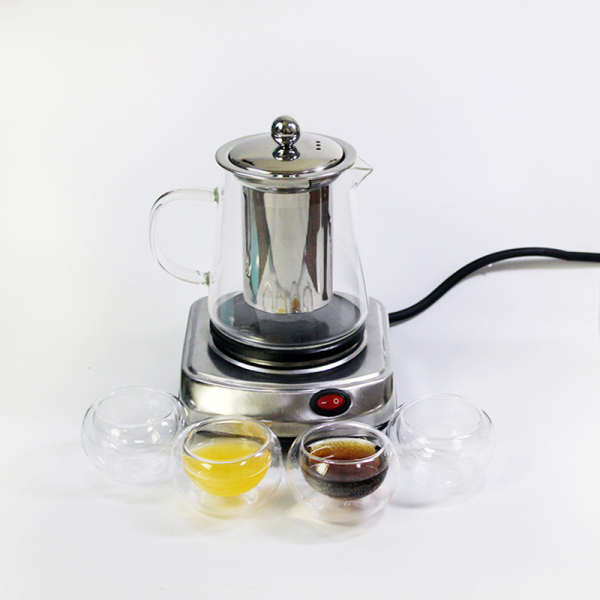 220V 500W Multifunctional Mini Electric Stove Cooking Hot Plate Coffee Heater Coffee Tea Heater Home Appliance Coffee Maker EU Plug