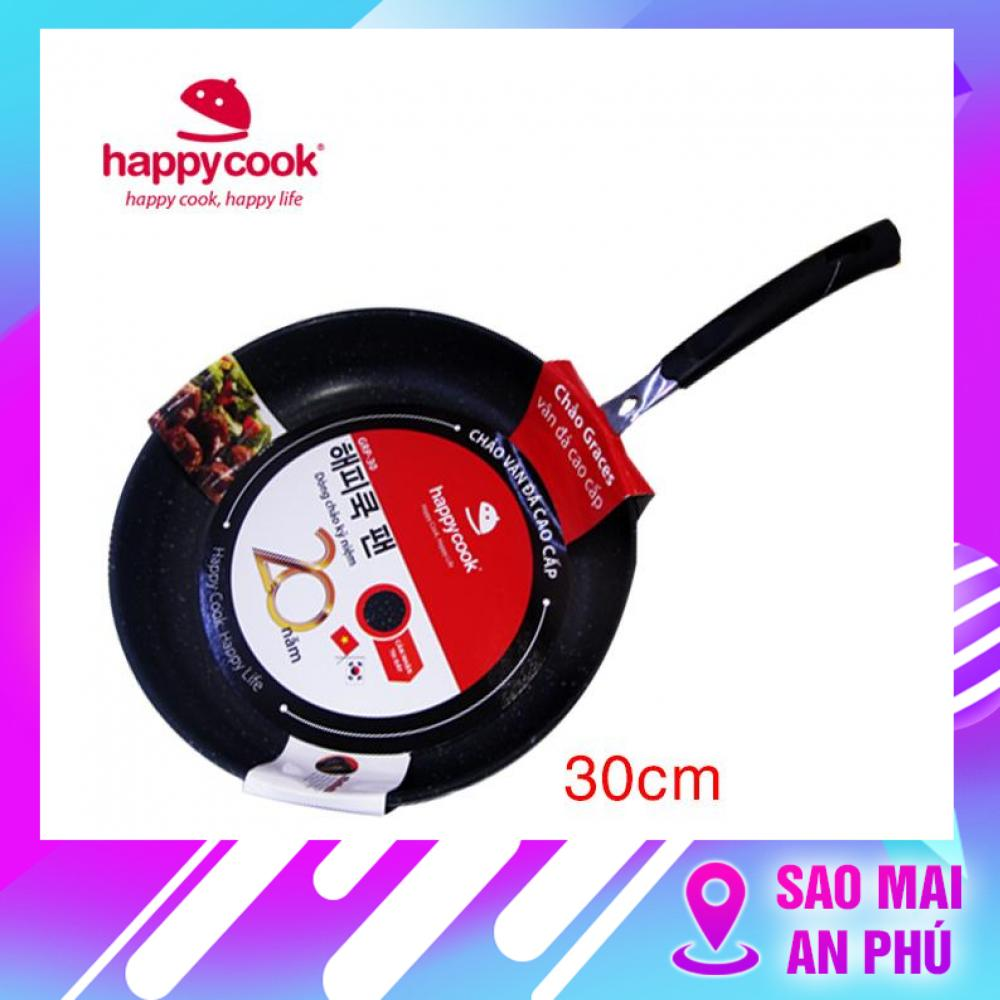 Chảo nhôm chống dính đáy từ 30 cm Happycook Hera HFP-30 ( Không kén bếp )