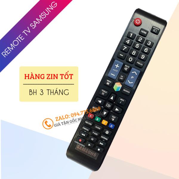 Bảng giá [ Hàng Zin Tốt ] Điều Khiển Tivi Samsung Smart Tivi AA59-00594A - Remote Tivi Samsung Hàng Cao Cấp Phím Bấm Êm - Nẩy
