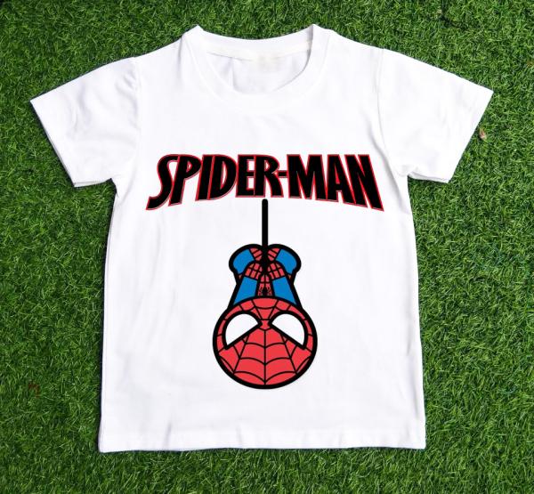 Áo thun dành cho bé trai in hình  SPIDER MAN  dễ thương chất vải dễ chịu- BTBB1-THƯƠNG HIỆU LAVIESHOP