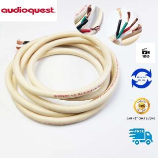 Dây loa âm thanh cao cấp 4 lõi bãi Mỹ, Thương hiệu AudioQuest chính hãng, Dây lõi đồng đơn chống nhiễu đặc trưng dòng dây loa Audioquest Mỹ thumbnail