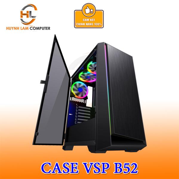 Giá Thùng máy tính Case VSP B52 Gaming kính cường lực