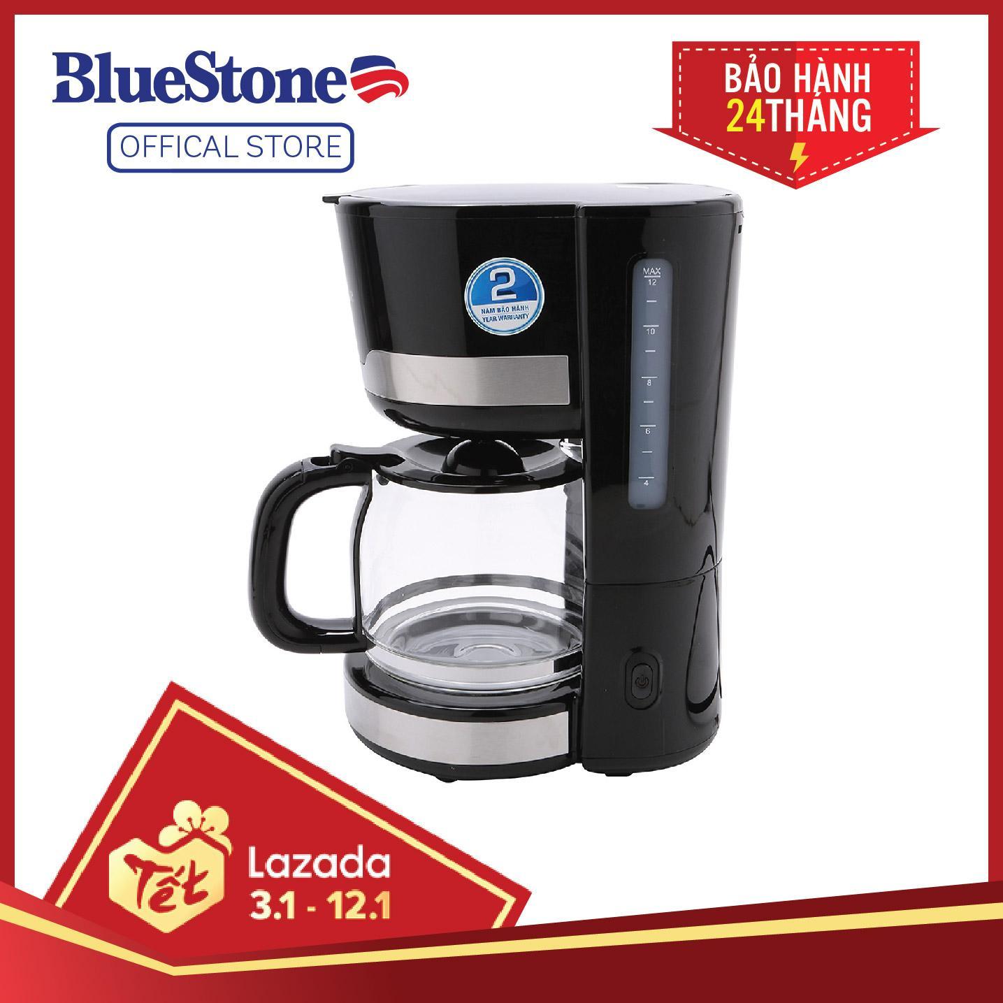 Máy pha cà phê Bluestone CMB-2635 1.5L - Chế độ giữ ấm 40 Phút - Công suất 1000W - Bảo hành 2 năm - Hàng chính hãng
