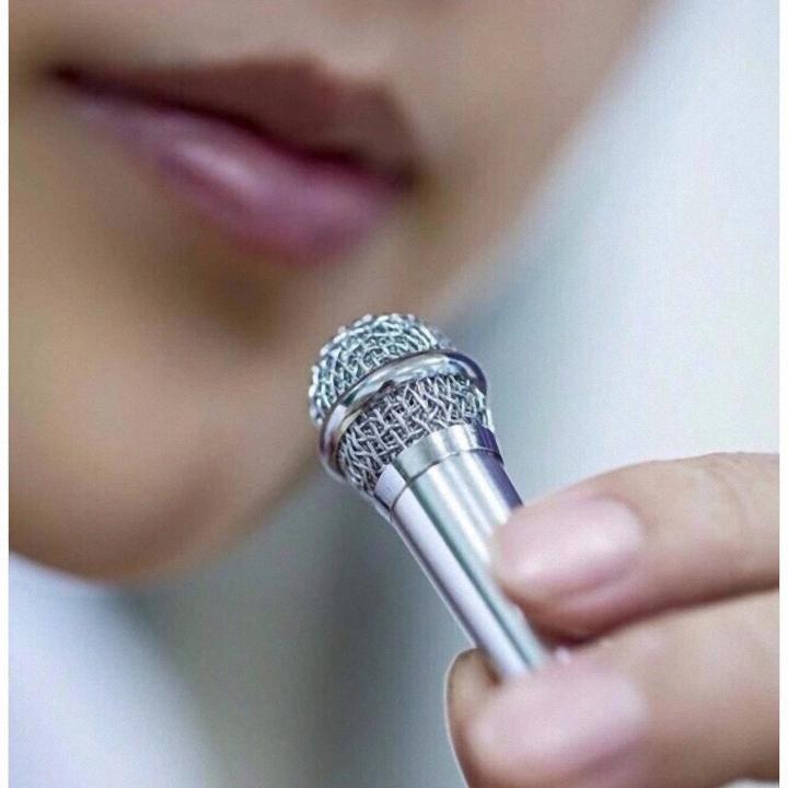 Micro Mini Hát Karaoke Trên Điện Thoại Tiện Dụng