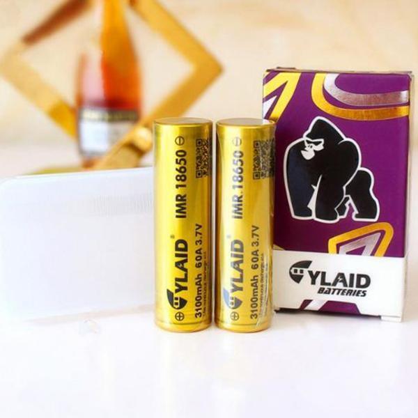 Bộ 2 Pin sạc Lithium 18650 CYLAID