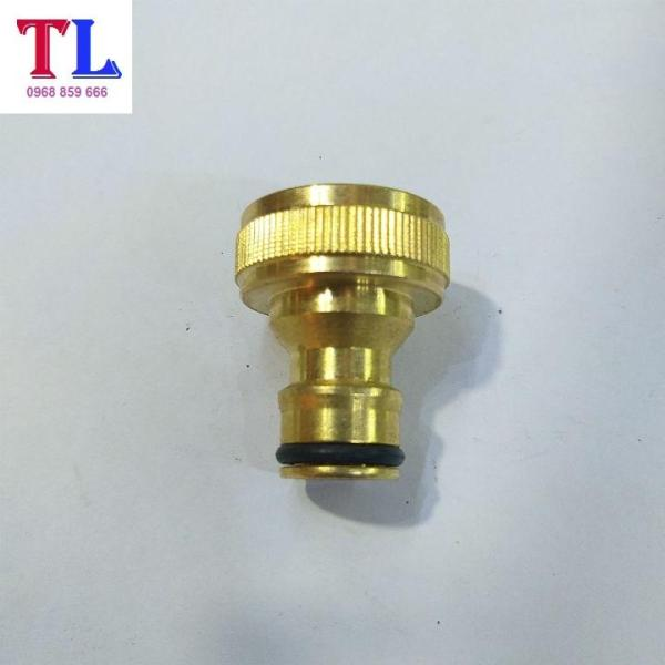 Khớp nối nhanh đầu vào cho máy rửa xe áp lực cao kết hợp với đầu nối nhanh dễ dàng kết nối và sử dụng