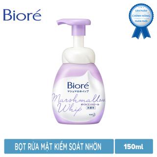 Bọt Rửa Mặt Kiểm Soát Nhờn Biore Marshmallow Whip Oil Control 150ml thumbnail