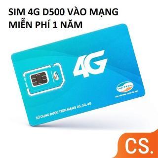 SIM 3G 4G VIETTELL D500 CHUẨN TỐC ĐỘ 4G LƯỚT SÓNG NHANH VỚI 48GB TRỌN GÓI TRÊN NĂM thumbnail
