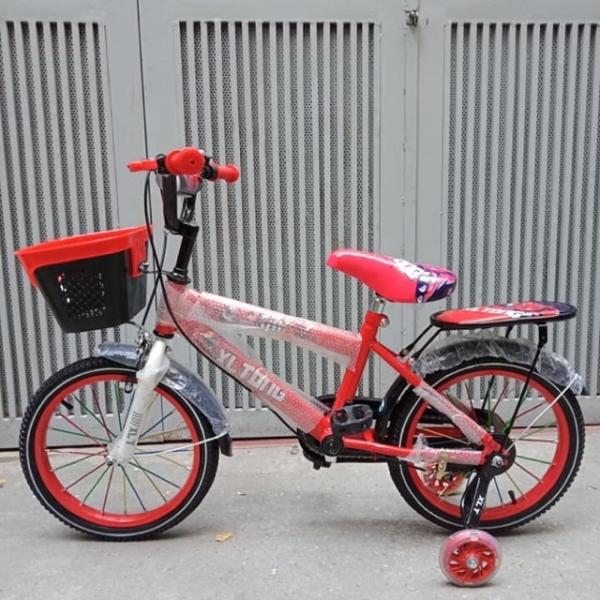 Phân phối xe đạp trẻ em - xe đạp cho bé - dành cho bé 5-12 tuổi - mẫu mới  khung vành bằng sắt siêu trắc chắn bánh 16 xe đạp - xe dap tre em 10 tuoi - xe đạp trẻ em - xe đạp trẻ em 3 tuổi - xe đạp trẻ em 10 tuổi 2 bánh - xe dap tre em