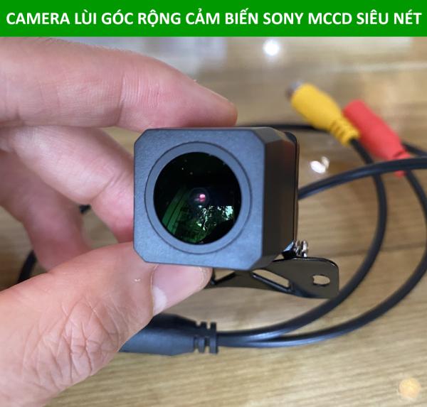 Camera lùi góc rộng, cảm biến Sony MCCD