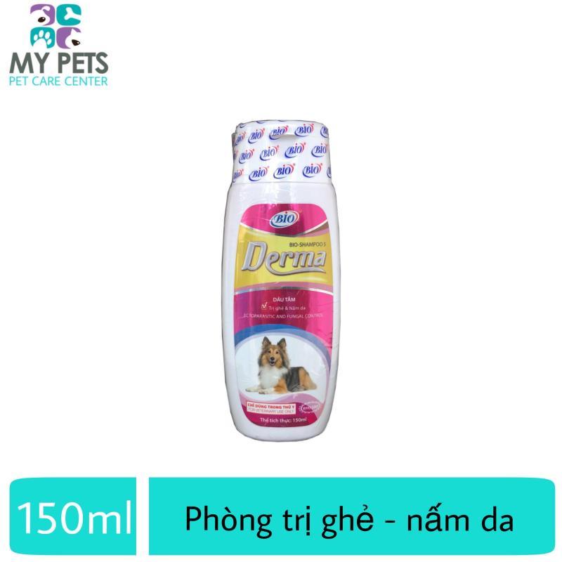 Sữa tắm diệt ve ghẻ, nấm da cho chó mèo - Bio Derma 150ml