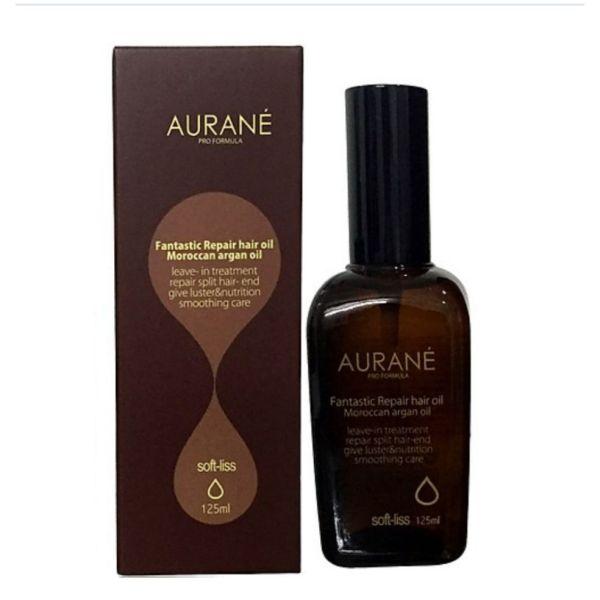 Tinh dầu dưỡng bóng phục hồi tóc AURANE Softliss Fantastic Repair hair oil 125ml cao cấp