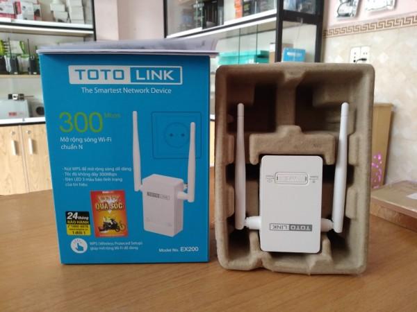 Bảng giá Thiết Bị Phát Wifi Repeater TOTOLINK EX200 Phân Phối Chính Hãng Phong Vũ