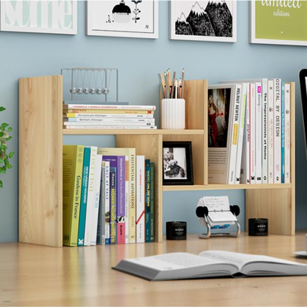 Kệ sách gỗ đa ngăn ĐỂ BÀN tiện ích - gỗ MDF