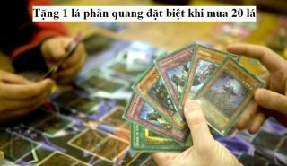 Bài vua trò chơi Yugioh 1 lá ngẫu nhiên không tem (CAM KẾT KHÔNG TRÙNG) tặng 1 lá phản quang đặt biệt khi mua 20 lá [ 1220 B ] thumbnail