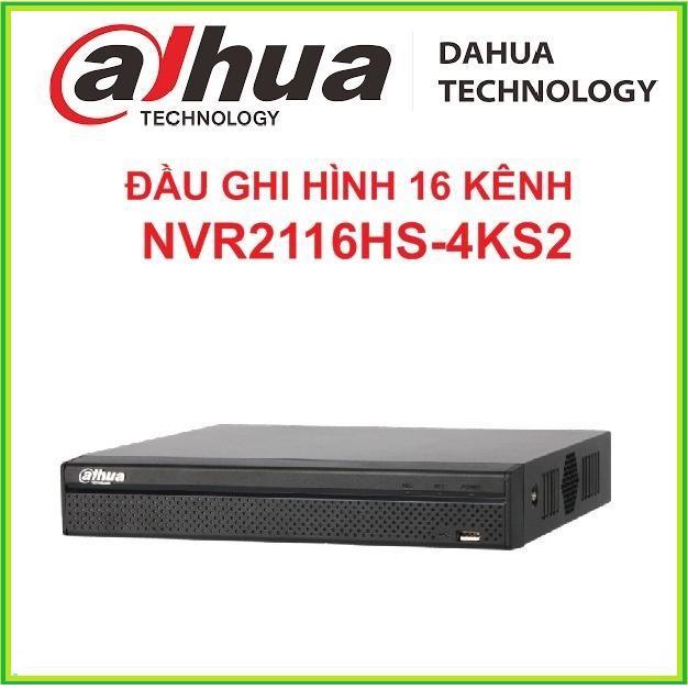 Đầu ghi hình IP DAHUA NVR2116HS-4KS2 16 KÊNH