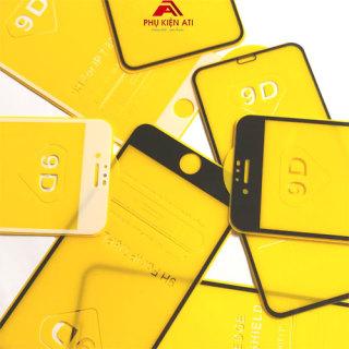 [ĐÃ CÓ IPHONE 12] Kính cường lực iPhone Full màn hình 9D- Full dòng iPhone từ 6 đến 12Promax- Cường lực 9D cho iPhone 5