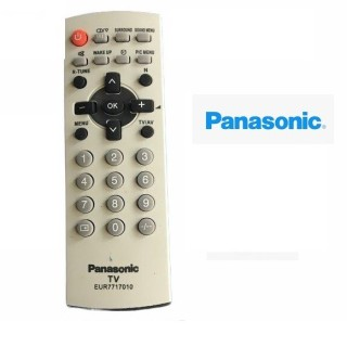 Điều Khiển TiVi panasonic CRT dùng cho các loại tivi Panasnonic đời cũ màn hình dầy - Tặng kèm pin chính hãng Remote Panasonic LCD cổ - Remote panasonic loại tivi cổ dầy cong ngày xưa 5