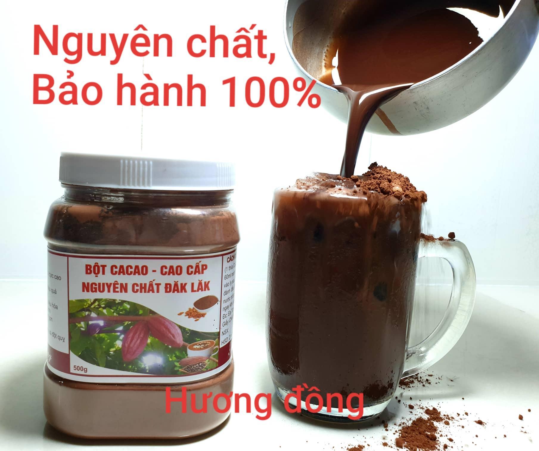 Mã Khuyến Mại tại Lazada cho Bột Cacao Đăk Lăk Nguyên Chất ( Hũ 500g )