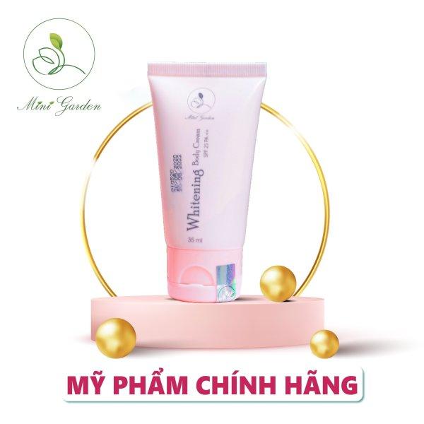 Kem dưỡng toàn thân MiniGarden Whitening Body Cream SPF 25 PA ++ 35ML