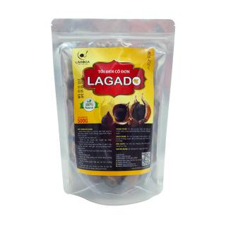 Tỏi Đen Lagado Túi 500gr - Tỏi đen cô đơn sản xuất theo công nghệ Nhật Bản ủ lên men tự nhiên 60 ngày Không chất bảo quản cực tốt cho sức khỏe thumbnail