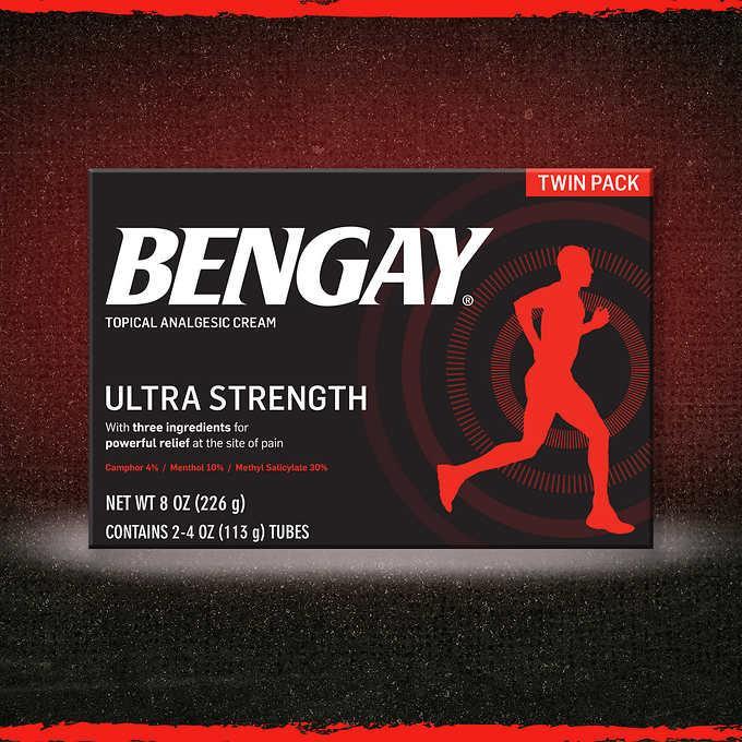 Dầu nóng Bengay Mỹ 2 tuýp 113g nhập khẩu