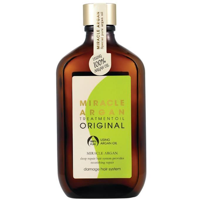 Tinh dầu dưỡng tóc Argan phục hồi hư tổn Merit Miracle Argan Oil Hàn Quốc 100ml tốt nhất