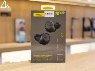 [HCM]tai nghe bluetooth - Tai nghe Bluetooth True Wireless Jabra Elite 75T Đen Titanium thumbnail
