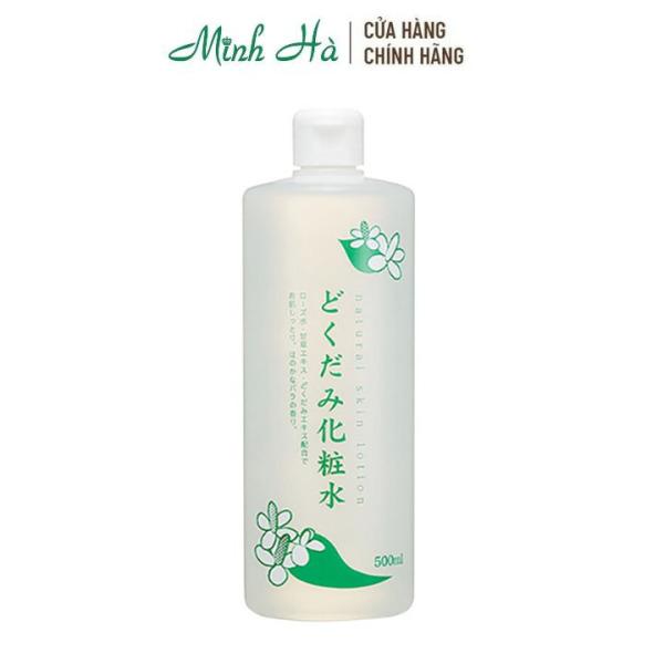 Nước hoa hồng diếp cá Natural Skin Lotion Nhật 500ml dành cho da dầu mụn