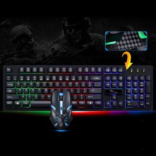 Combo chuột và bàn phím SHIPADOO chuyên game cao cấp giá rẻ ( Bảo hành 3 tháng ) thumbnail