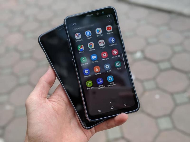 Điện thoại Samsung Galaxy S8 Active (SM-G892U) Like New || Ram 4GB - Pin 4000mA - Chip Snap835 || Máy bền, cứng cáp - Mua hàng tại Playmobile