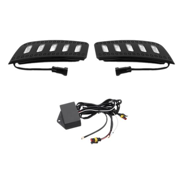 Car Waterproof Led Drl Daytime Running Lights Daylight Fog Lights for Ford Ranger Px1 T6 Mk1 2011 2012 2013 2014