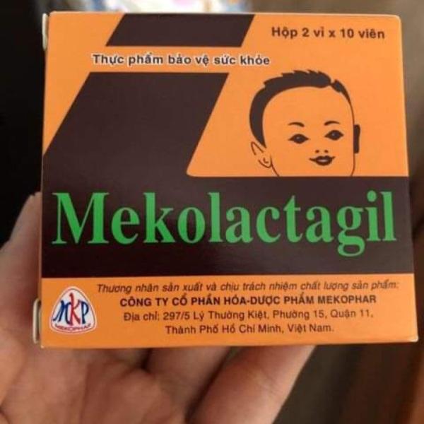 Tảo lợi sữa Meko Lactagil