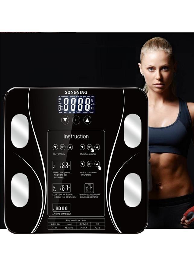 Cân điện tử thông minh phân tích cơ thể, cân sức khỏe đo lượng mỡ SongYing (Màu ngẫu nhiên)