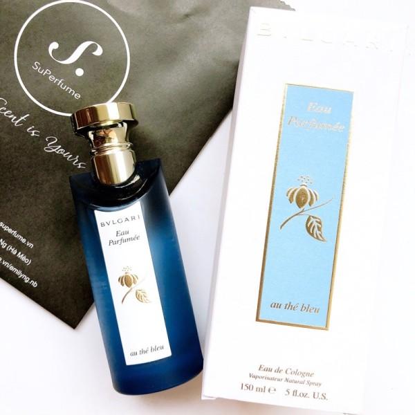 [ Mẫu thử ] Nước hoa Bvlgari Au The Bleu 10ml Spray / Chuẩn authentic cao cấp