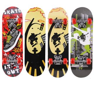 Ván trượt thể thao, Ván trượt trẻ em Skateboard- Ván trượt chuẩn Cứng chắc , bền đẹp, ván gỗ ép 8 lớp, bánh cao su êm, dễ dáng đổi hướng. thumbnail