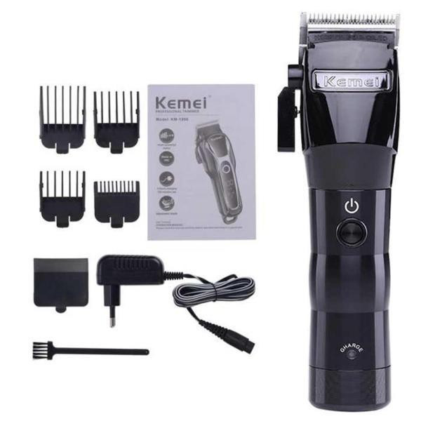 Tông đơ cắt tóc chuyên nghiệp Kemei Baber KM-2850 không dây cao cấp