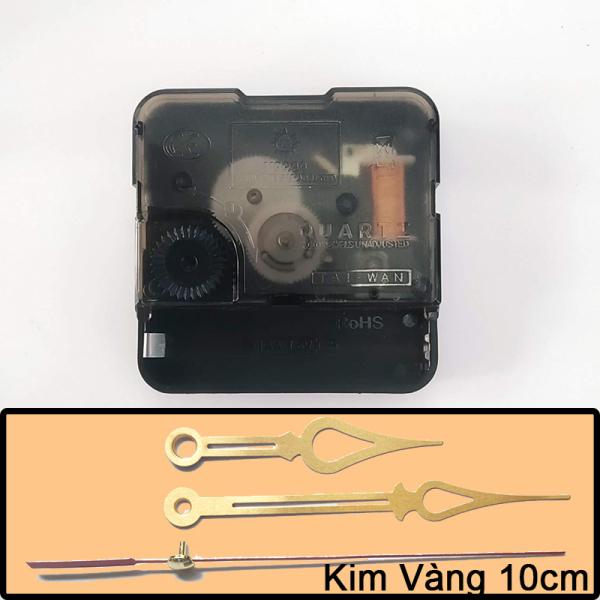 Nơi bán Bộ kim 10cm và Máy đồng hồ treo tường Kim Giật - Trục 5mm