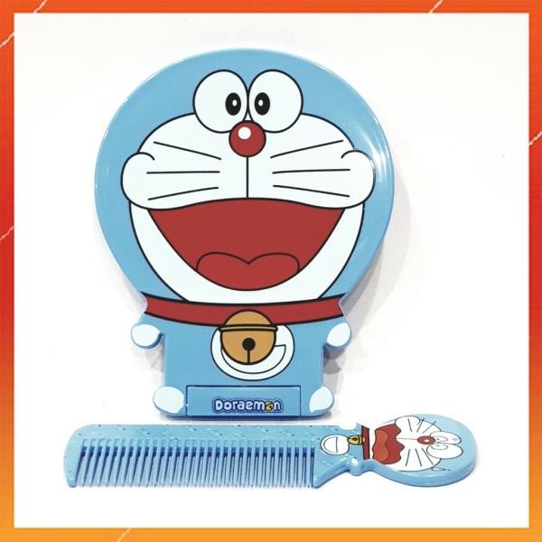 ⏩ Gương mini Doraemon - Hello Kitty bỏ túi, có kèm lược   MSP: 1048 - 1062