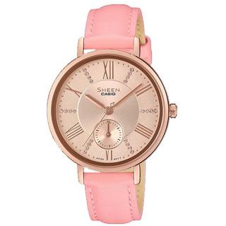 Đồng hồ Nữ Casio SHEEN SHE-3066PGL-4A nhẹ nhàng, nữ tính. thumbnail