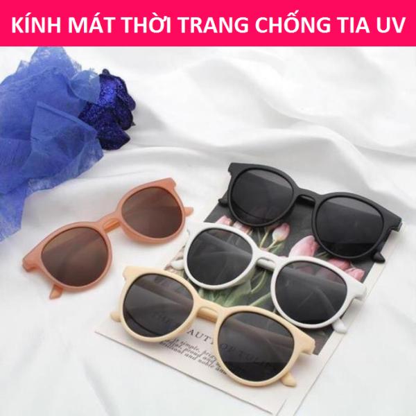 Giá bán Kính mát thời trang nam nữ gọng tròn Hottrend 2020 bảo hành 12 tháng lỗi 1 đổi 1 - Kính râm Unisex 001